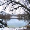 В этом пруду топилась жена писателя Софья Андреевна