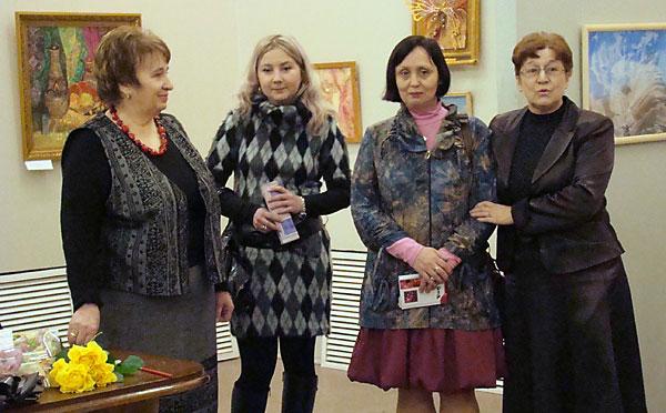 Поздравление от александровского «Министра культуры» Л.Сувориной
