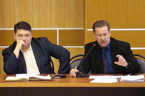 Заседание Совета народных депутатов Александровского района