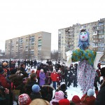 """Масленица у ККЗ """"Южный"""" в городе Александрове"""