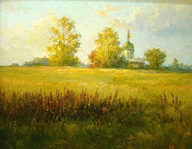 """Н.Юриков, """"Осень в провинции"""", 2006 г."""