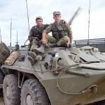 Российский десант в Южной Осетии
