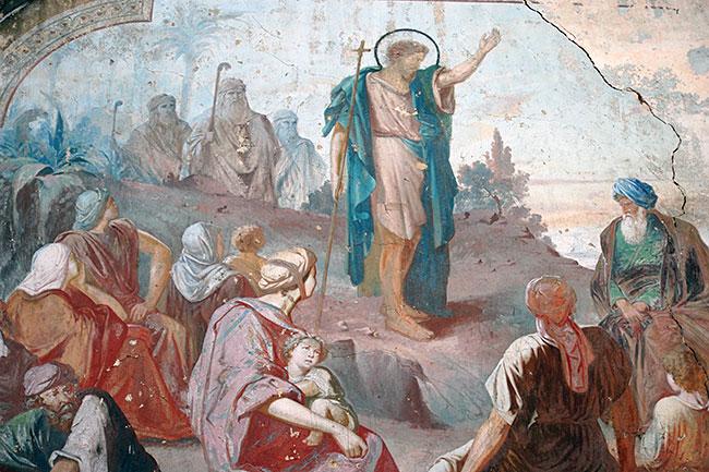 Фрески Богородице-Рождественского собора (1707-1712 гг.)