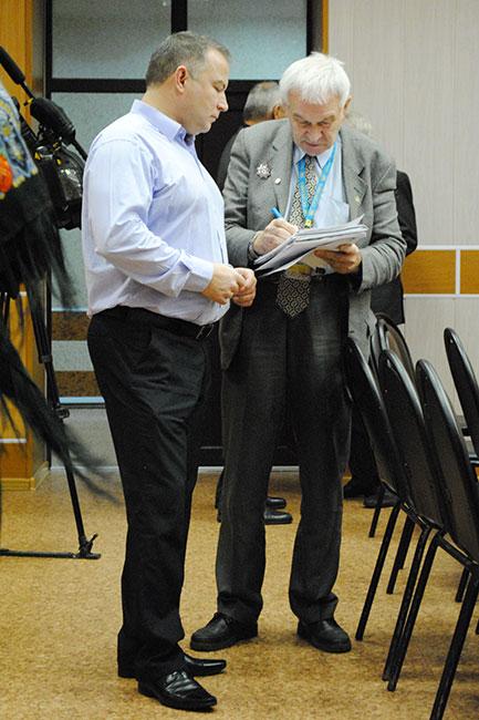 Михаил Горин и Владимир Кувшинов