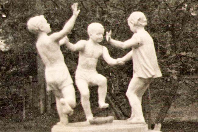 Скульптура в парке г.Александрова