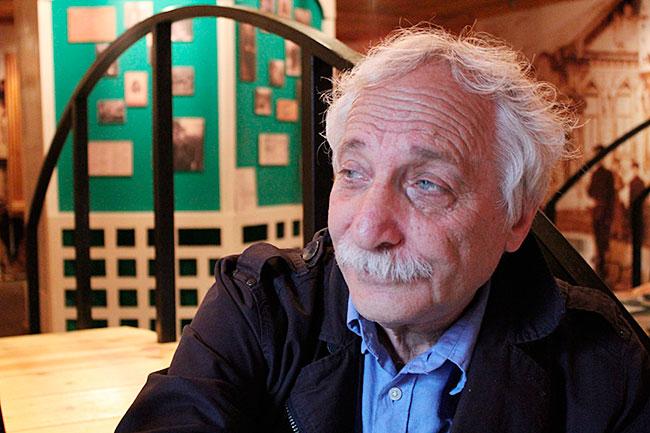 Директор Цветаевского музея Лев Готгельф.