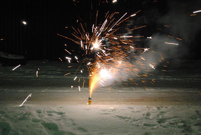 В этом году александровцы будут обходиться индивидуальными фейерверками
