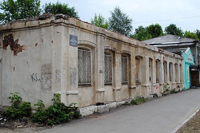 Сгоревшее здание Дворянского собрания на улице Ленина будет снесено