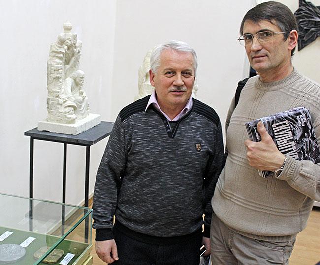 Павел Раскин и Юрий Иватько