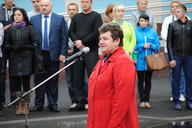 Губернатор Владимирской области Светлана Орлова на открытии детского сада в Александрове