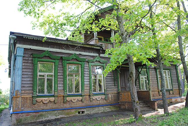 Усадьба Крутец - родовое имение семьи Зубовых.