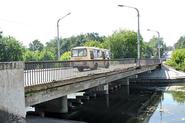 Банный мост в Александрове требует ремонта