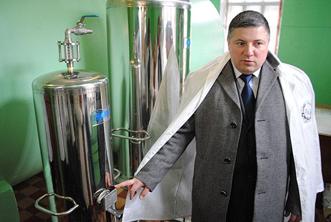 Экс-директор александровского ликеро-водочного завода Роман Кастов.