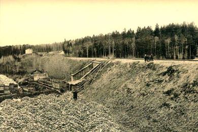 Арка в городе Карабаново. Фото конца ХIХ века.