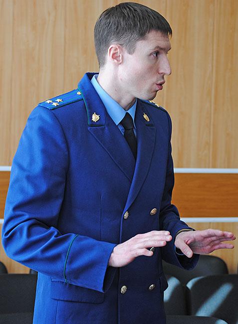 Александровский городской прокурор Роман Костин.