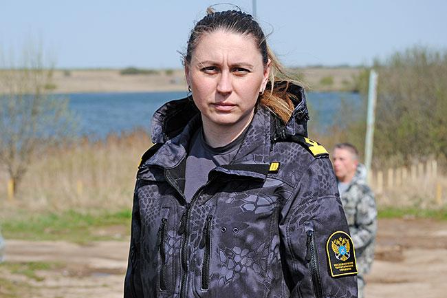 Начальник отдела госконтроля, надзора и охраны водных биологических ресурсов по Владимирской области Марина Платова.